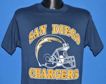 80s San Diego Chargers t-shirt Medium