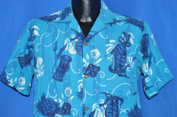 50s Hookano Polynesian Sailboat Pineapple Aloha Ha