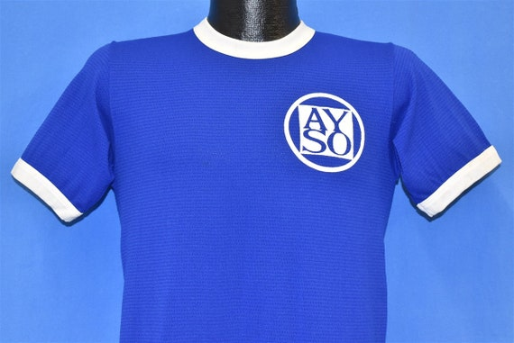 70s AYSO #12 Youth Soccer Jersey t-shirt Small