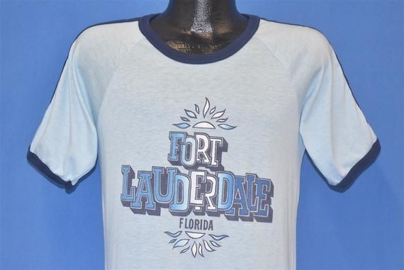 70s Fort Lauderdale Florida Jersey Ringer t-shirt