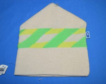 90s CB Off White Neon Winter Hat