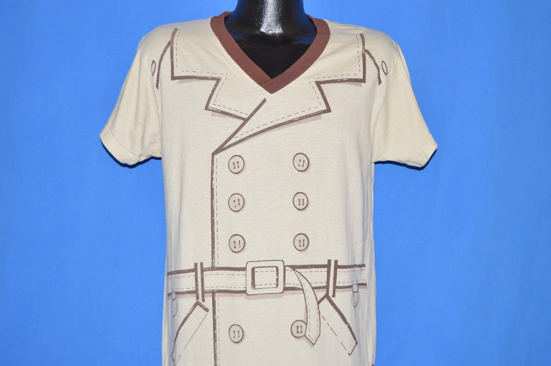 80 s 1983 Trenchcoat film 1983 s All Over impression t-shirt Medium 1e0697