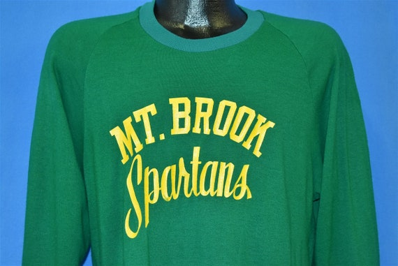 70s Mount Brook Spartans High School Sports Alabam