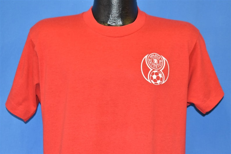 80s Sparta Soccer Club New Jersey Football Youth League t-shirt Medium