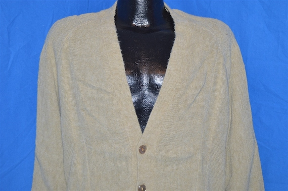 50s JC Penneys Sports Outerwear Baggy Cardigan Swe