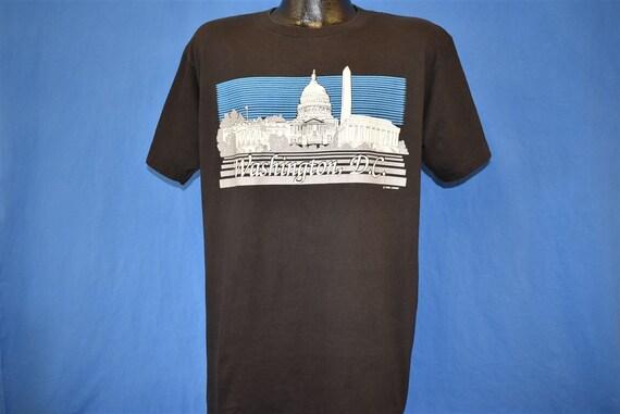 80s Washington DC Monuments White House Tourist t… - image 2