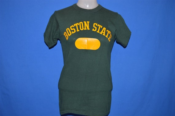 50s Boston State College UMass t-shirt Small - image 2