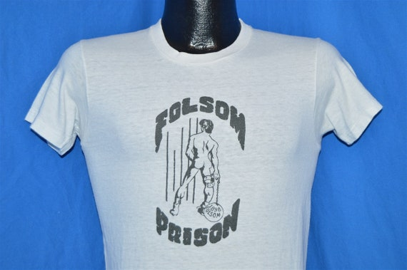 70s Folsom Prison Leather Gay Bar San Francisco t-
