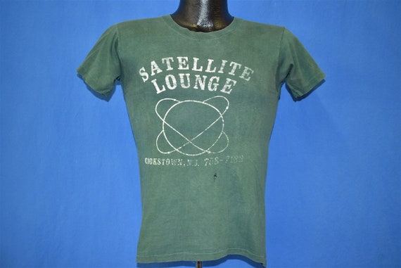70s Satelite Lounge Distressed t-shirt Extra Small - image 2