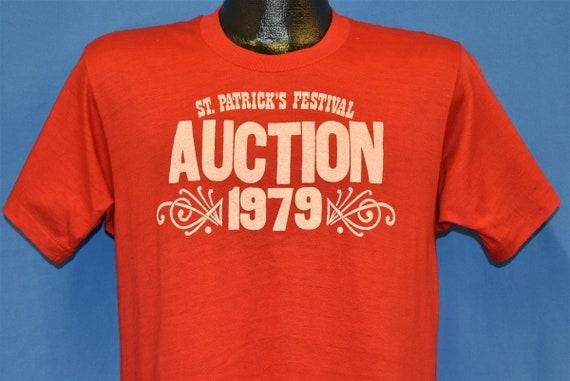 70s St. Patrick's Festival Auction 1979 Soft t-shi