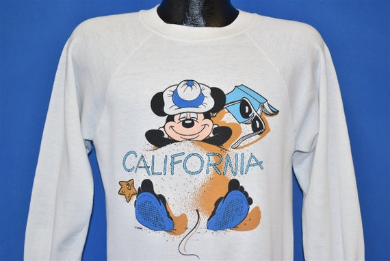 80s Mickey Mouse Disneyland California Sweatshirt
