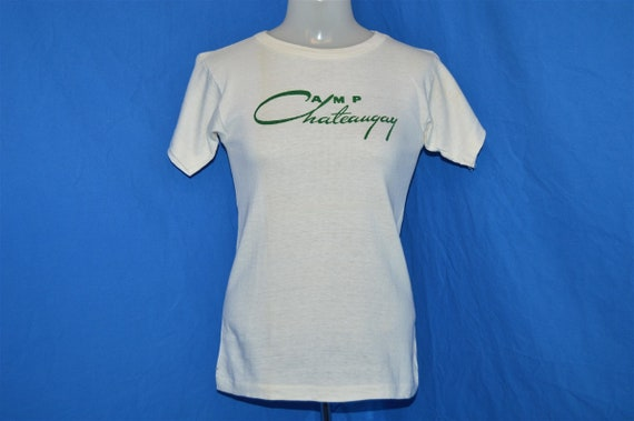 50s Camp Chateaugay Champion Running Man t-shirt … - image 2