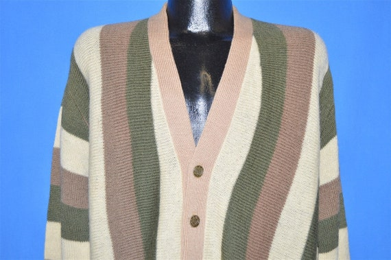 50s Penny's Towncraft Wool Cardigan Sweater Large