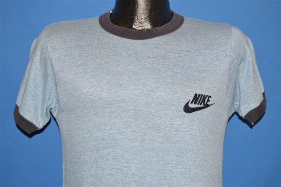 70s Nike Rayon Tri Blend Ringer t-shirt Small
