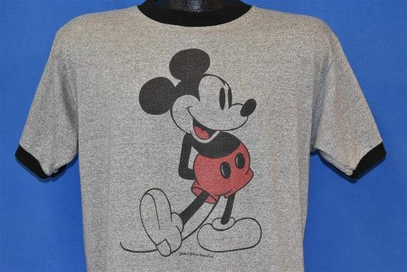 80s Mickey Mouse Walt Disney Ringer t-shirt Large