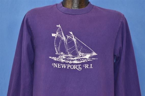 90s Newport Rhode Island Sailing Long Sleeve t-shi