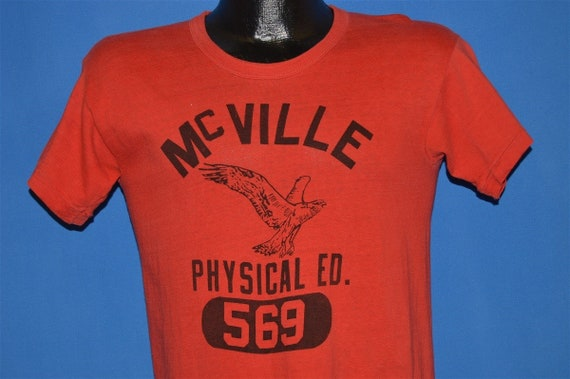 50s McVille High School Phys Ed Distressed t-shirt