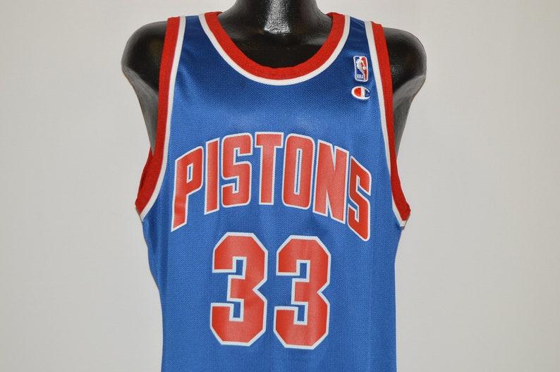 90s Detroit Piston Grant Hill 33 Jersey size 44  5fe3db36a
