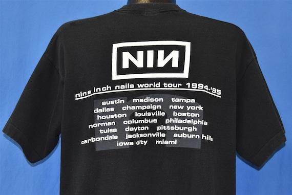90s Nine Inch Nails Self Destruct Tour Downward S… - image 3