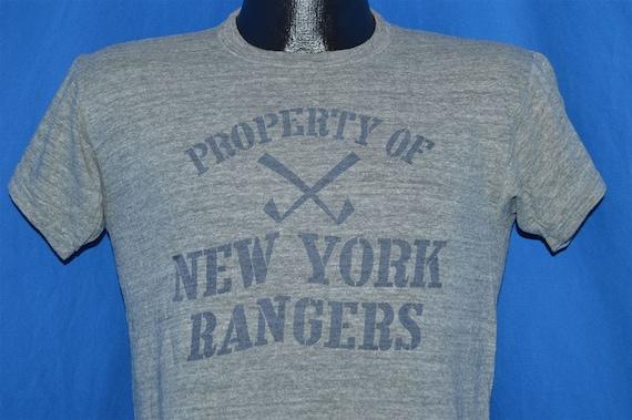 60s Property of New York Rangers t-shirt Medium  448b83acf