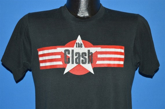 80s The Clash On Broadway 1981 t-shirt Medium