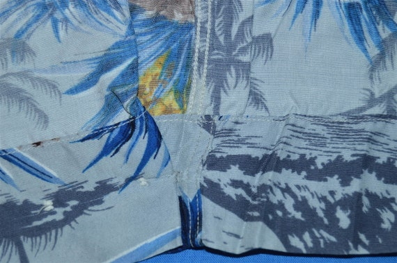 50s Sears Pineapple Rayon Aloha Hawaiian Shirt Me… - image 3