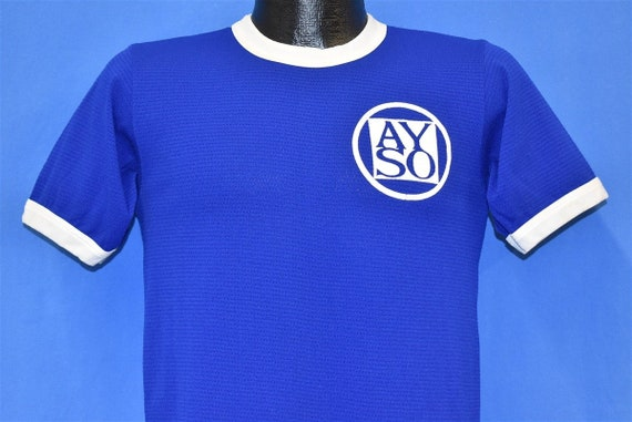 70s AYSO #13 Youth Soccer Jersey t-shirt Small