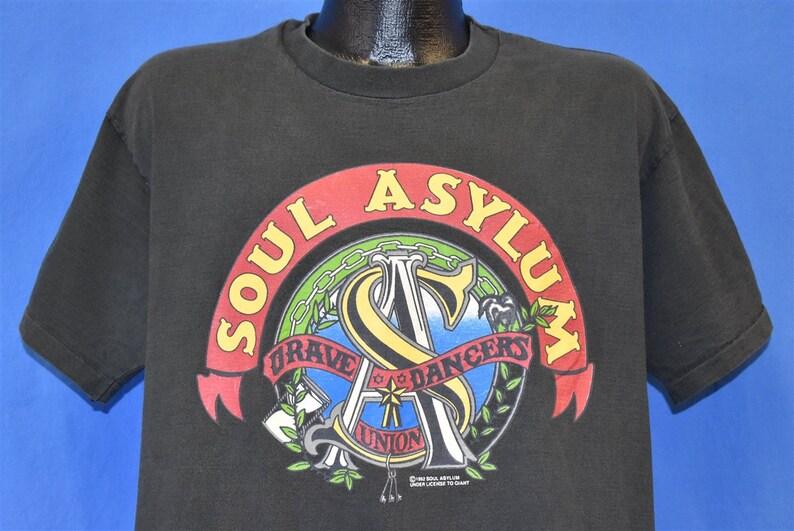 90s Soul Asylum Grave Dancers Union Tour Band t-shirt Extra Large