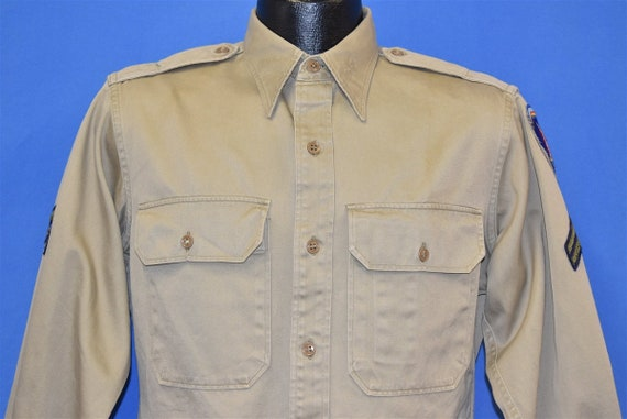 40s US Army USAREUR 7th Army Officer Shirt Small