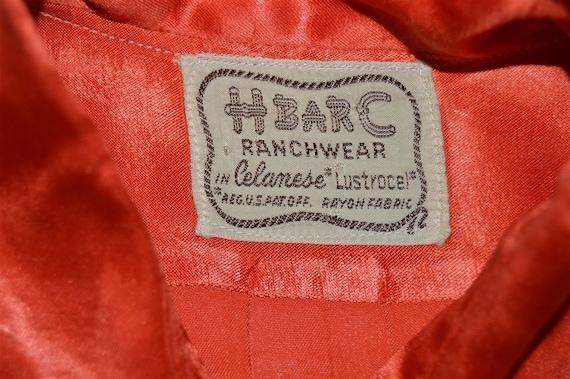 40s H Bar C Ranchwear Celanese Women's Western sh… - image 7