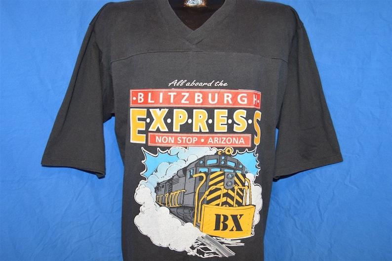 dbc8862f987 90s Pittsburgh Steelers Super Bowl XXX Blitzburgh Train | Etsy