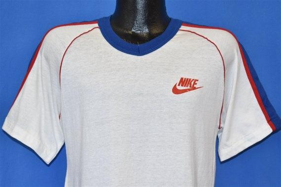 70s Nike V Neck Jersey t-shirt Medium