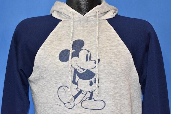 80s Mickey Mouse Disney Raglan Sweatshirt Medium