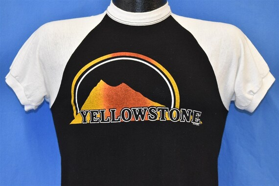 80s Yellowstone National Park Raglan t-shirt Small