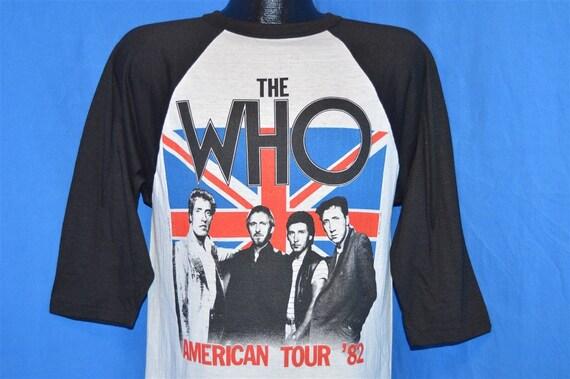 80s The Who American Tour Video Game t-shirt Mediu