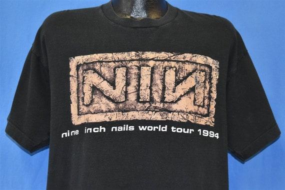 90s Nine Inch Nails Self Destruct Tour Downward S… - image 1
