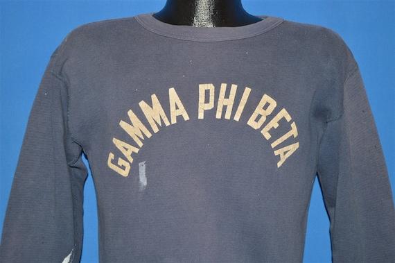 50s Gamma Phi Beta Champion Distressed Sweatshirt