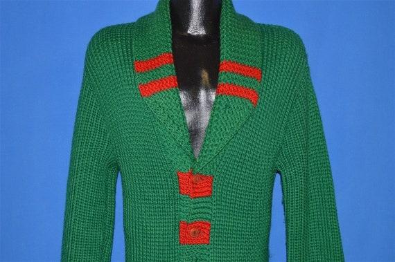 30s Shawl Collar Standard Knitting Mills Wool Car… - image 1