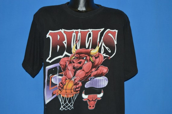 281e1ce1a801 90s Chicago Bulls Slam Dunk t-shirt Extra Large