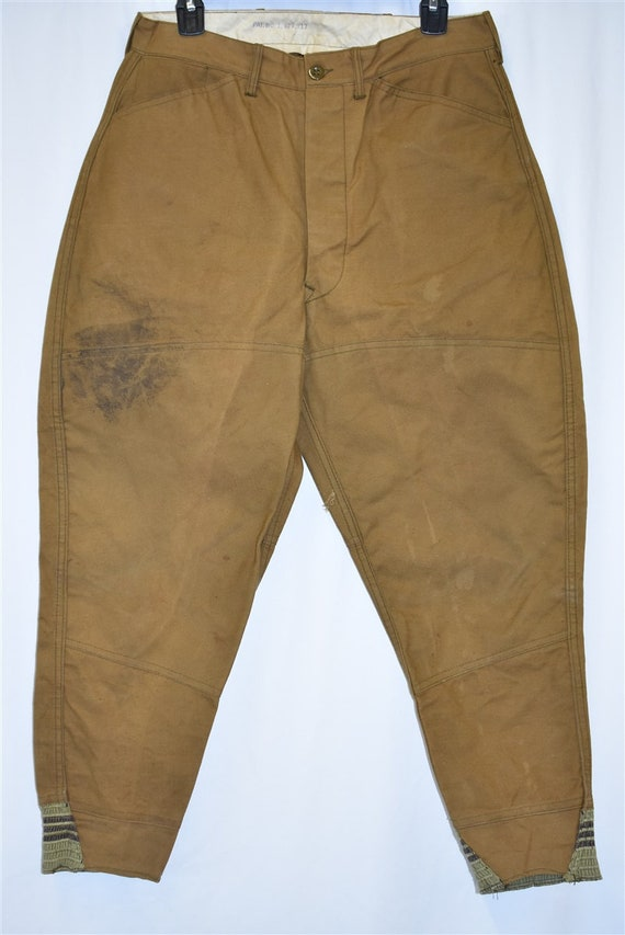 40s Blue Bill Duck Hunting Pants Size 32 - image 2