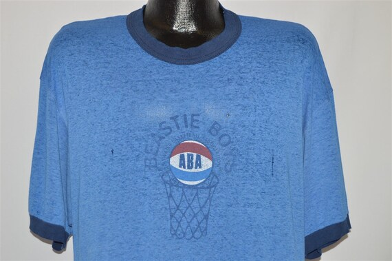 90s Beastie Boys Basketball Distressed t-shirt Ext