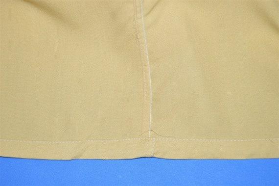 50s Sears Rockabilly Loop Collar Shirt Medium - image 5