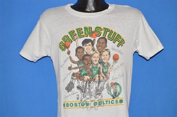 80s Boston Celtics Caricature t-shirt Small