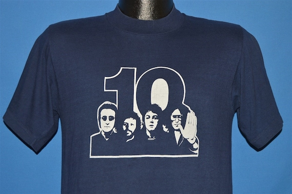 70s The Beatles 10 Year Anniversary t-shirt Medium