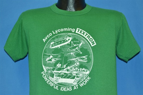 80s Avco Lycoming Engines Textron Defense Military