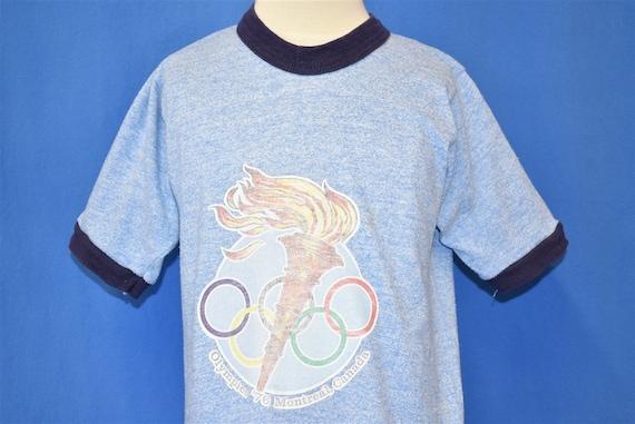 70s Olympics '76 Montreal Ringer t-shirt Extra Sma