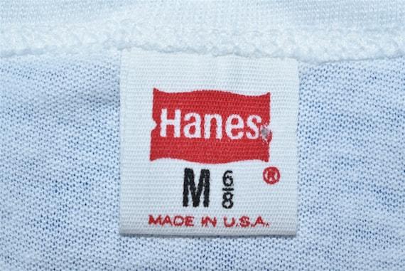 70s Blank White t-shirt Toddler 2T - image 3