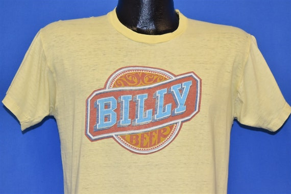 70s Billy Beer Logo Jimmy Carter Yellow t-shirt Me