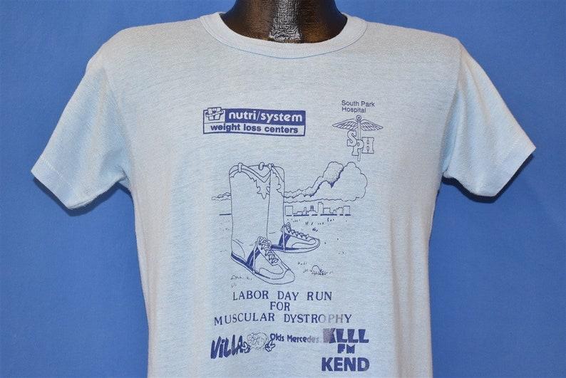 80s Labor Day Run For Muscular Dystrophy t-shirt Medium