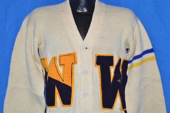 40s Princeton Knitting Mills Varsity Letterman Swe